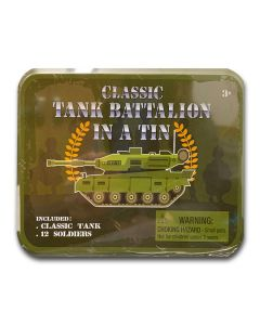 Classic Battalion in a Tin(Tank & 12 Soldiers)