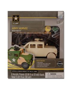 Army Humvee Wood Paint Kit