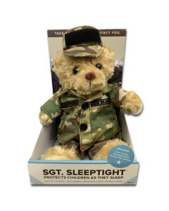 Plush Sleep Tight Army Bear
