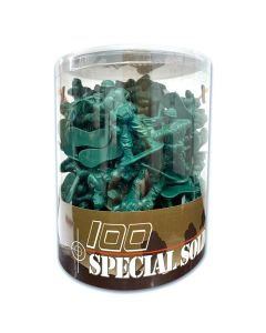 Toy Soldier Bucket 100 Pieces