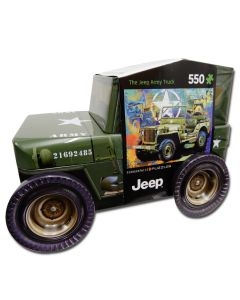 Army Jeep Puzzle