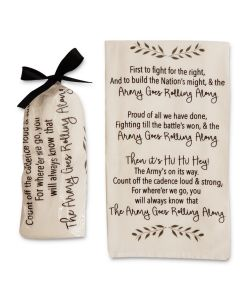 Army Fight Song Kitchen Towel