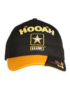 Adult Hooah Two-Tone Made in USA Cap