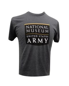 Adult NMUSA Logo Charcoal Heather T-Shirt