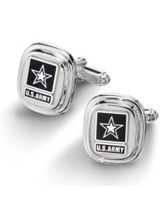 U.S. Army Sterling Silver Cuff Links