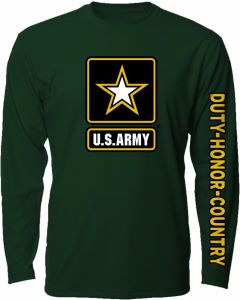 Adult U.S. Army Honor Star Long Sleeve