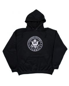 Adult United States Army Black Hoodie