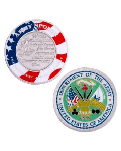 Army Spouse The Toughest Job In The Army Challenge Coin