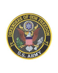 Defenders Of Our Freedom U.S. Army Patch