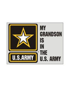 My Grandson Is In The U.S. Army Decal