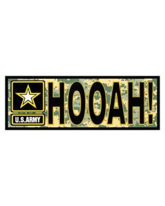 U.S. Army Hooah! Decal