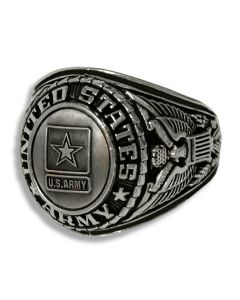 United States Army Antique Finish Ring