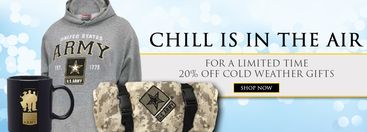 US Army 20% off All Cold Weather Gifts